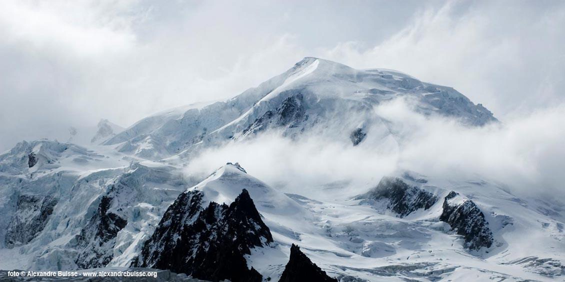 mont blanc. Imagen CC por Alexandre Buisse