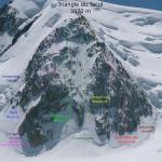 Un alpinista catalán fallece en el macizo del Mont Blanc