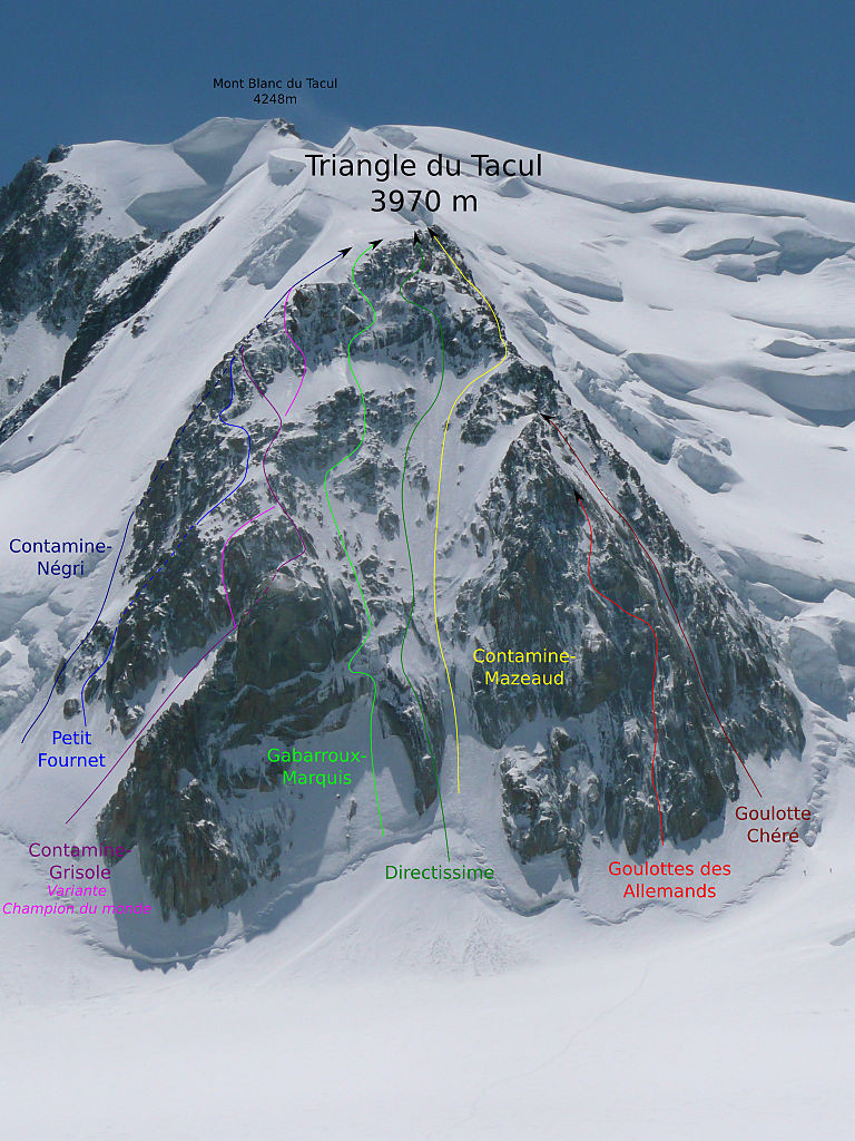 Triangle_du_Tacul_-_North_face_-_Routes